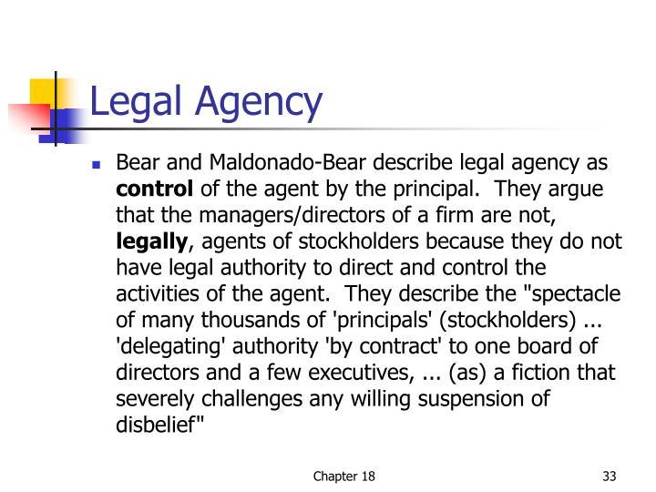 Legal Agency