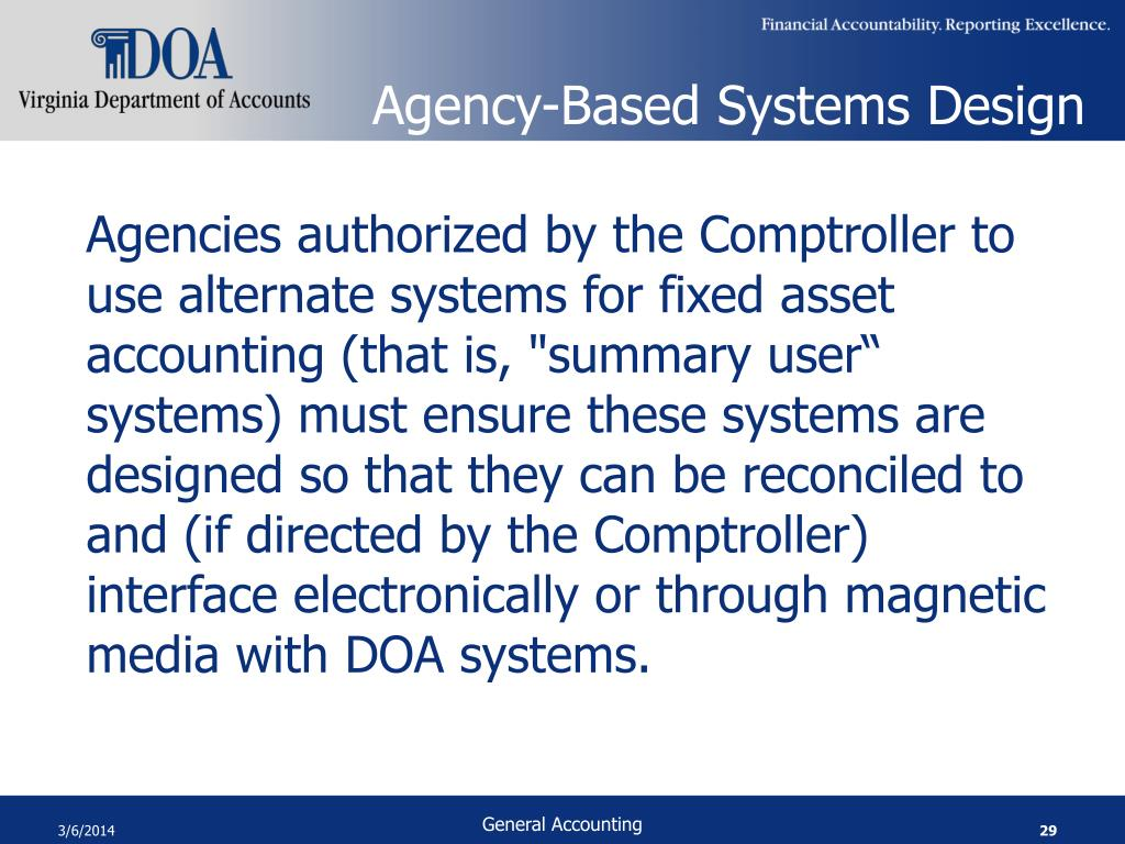 Agency-Based Systems Design