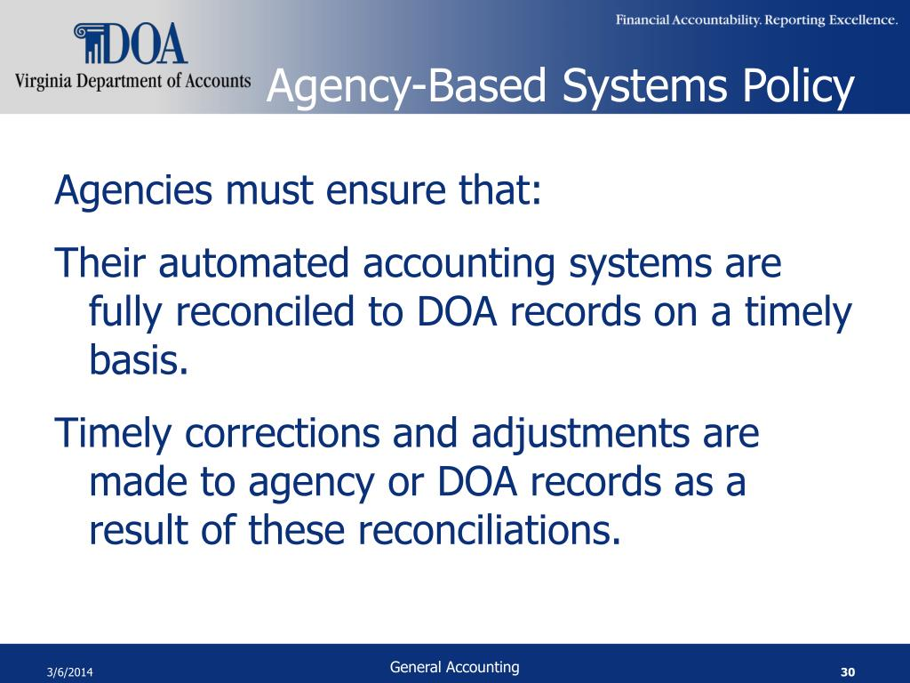 Agency-Based Systems Policy