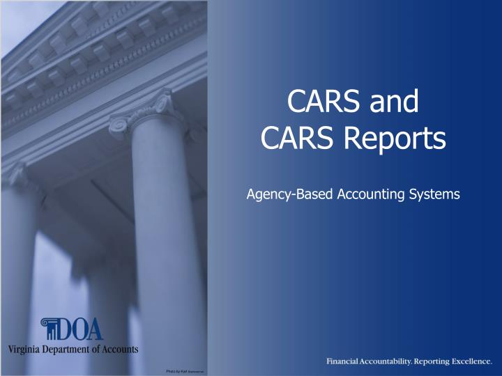 Cars and cars reports agency based accounting systems