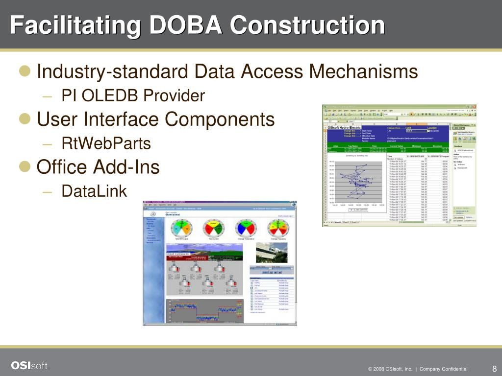 Facilitating DOBA Construction