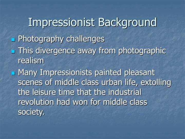 Impressionist Background
