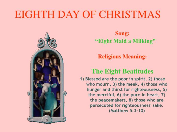 EIGHTH DAY OF CHRISTMAS