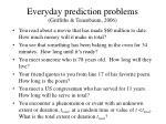 everyday prediction problems griffiths tenenbaum 2006