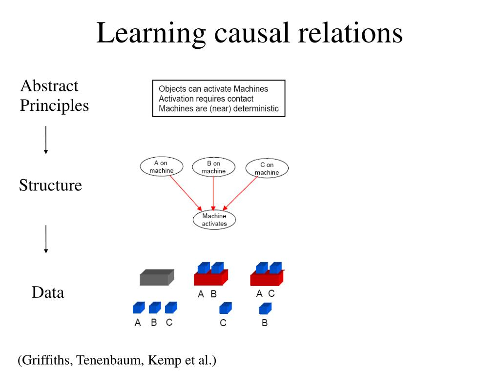 Learning causal relations
