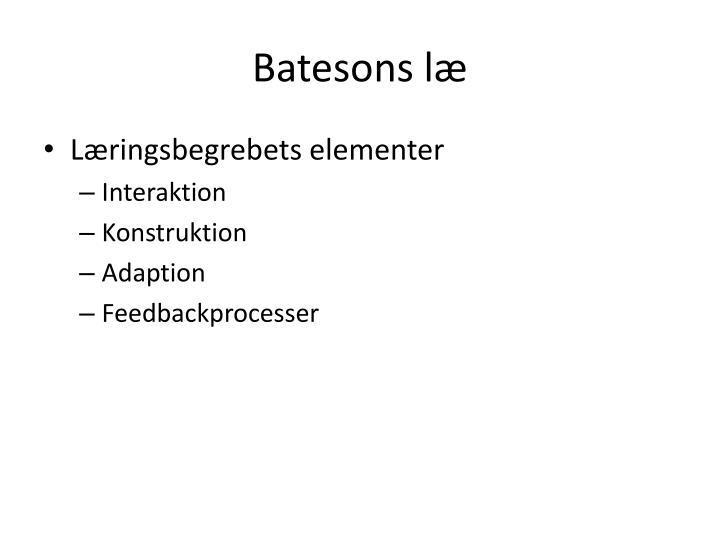Batesons