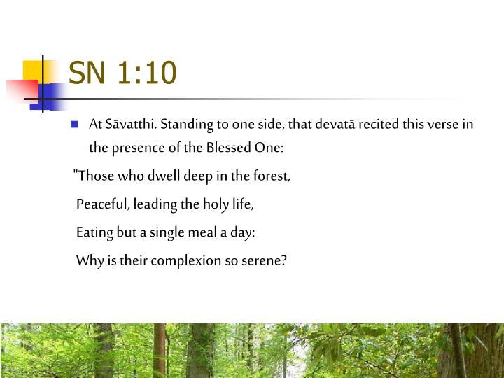 SN 1:10