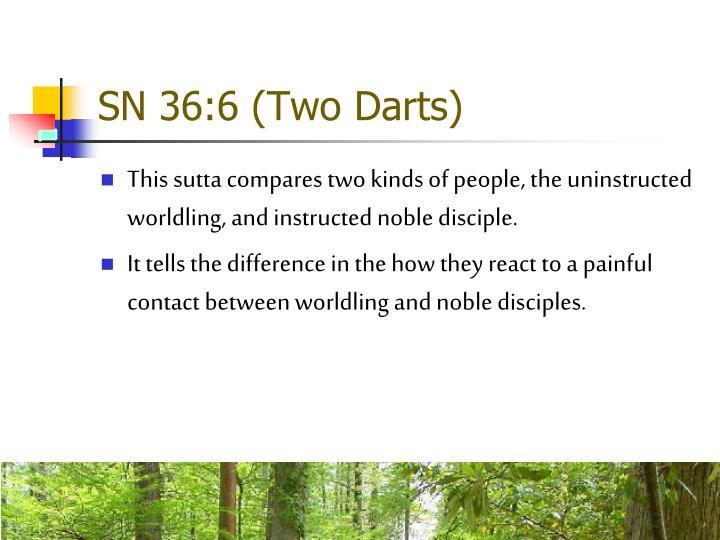 SN 36:6 (Two Darts)