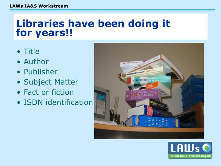 Libraries have been doing it