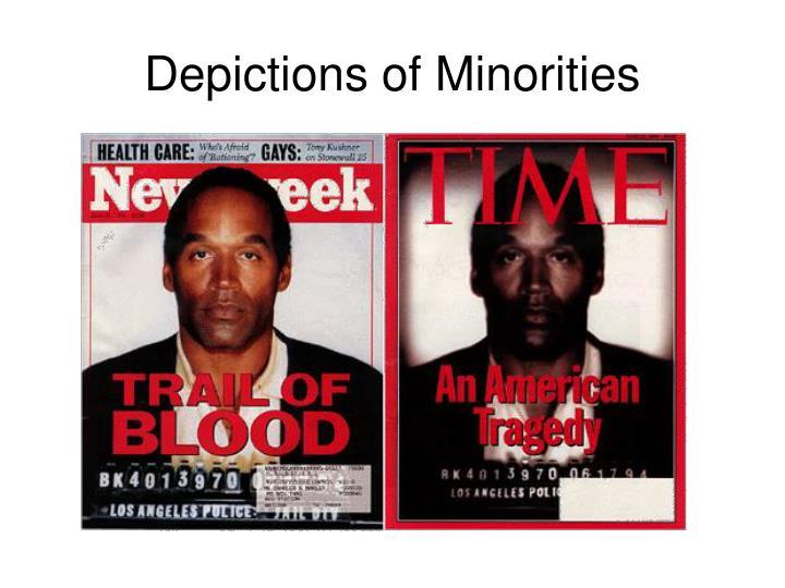 Depictions of Minorities