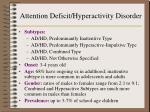attention deficit hyperactivity disorder3