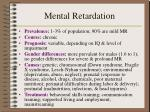 mental retardation1