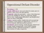 oppositional defiant disorder1