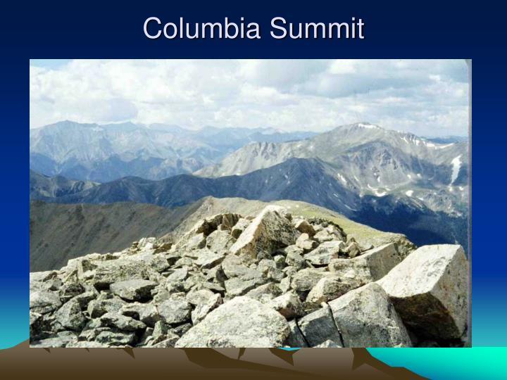 Columbia Summit