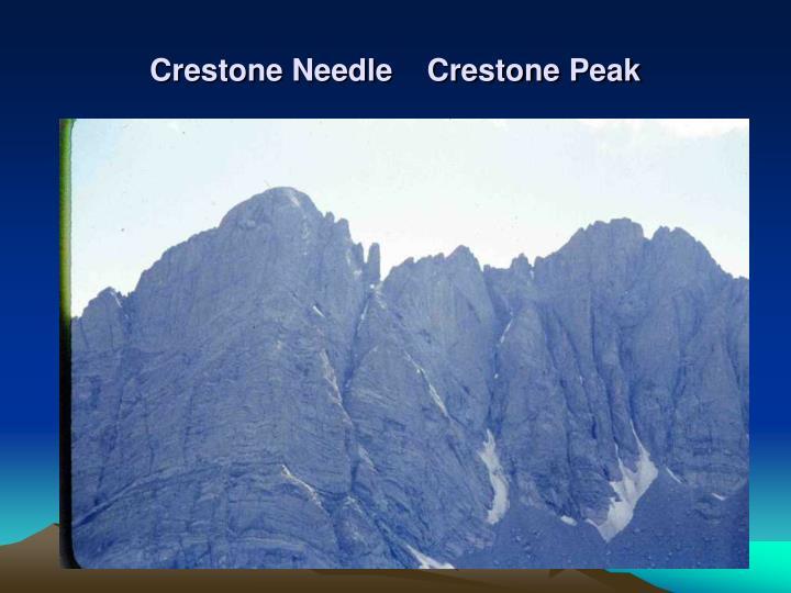 Crestone Needle    Crestone Peak