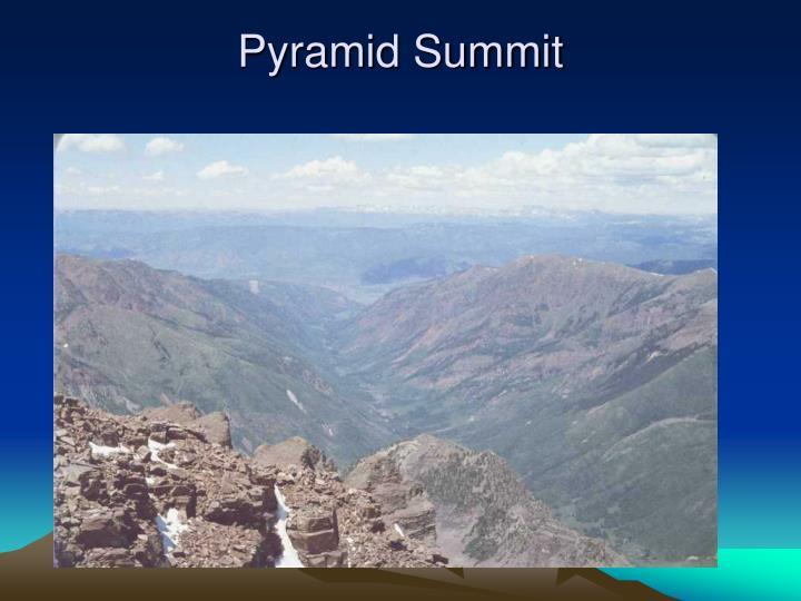 Pyramid Summit