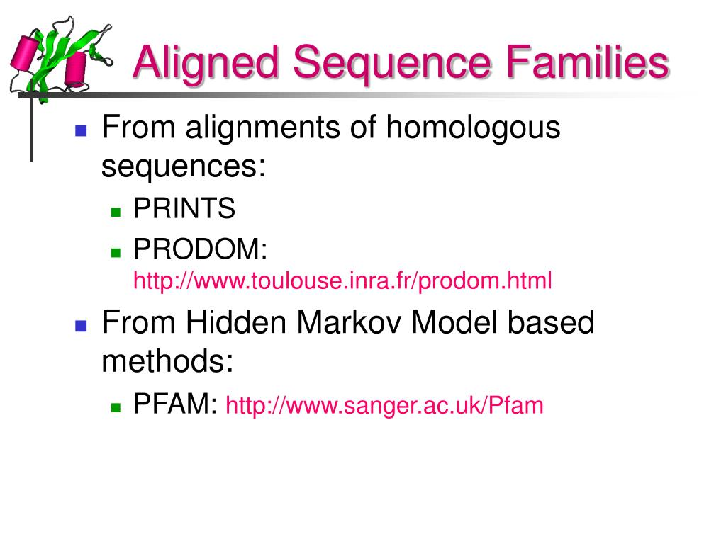 Aligned Sequence Families