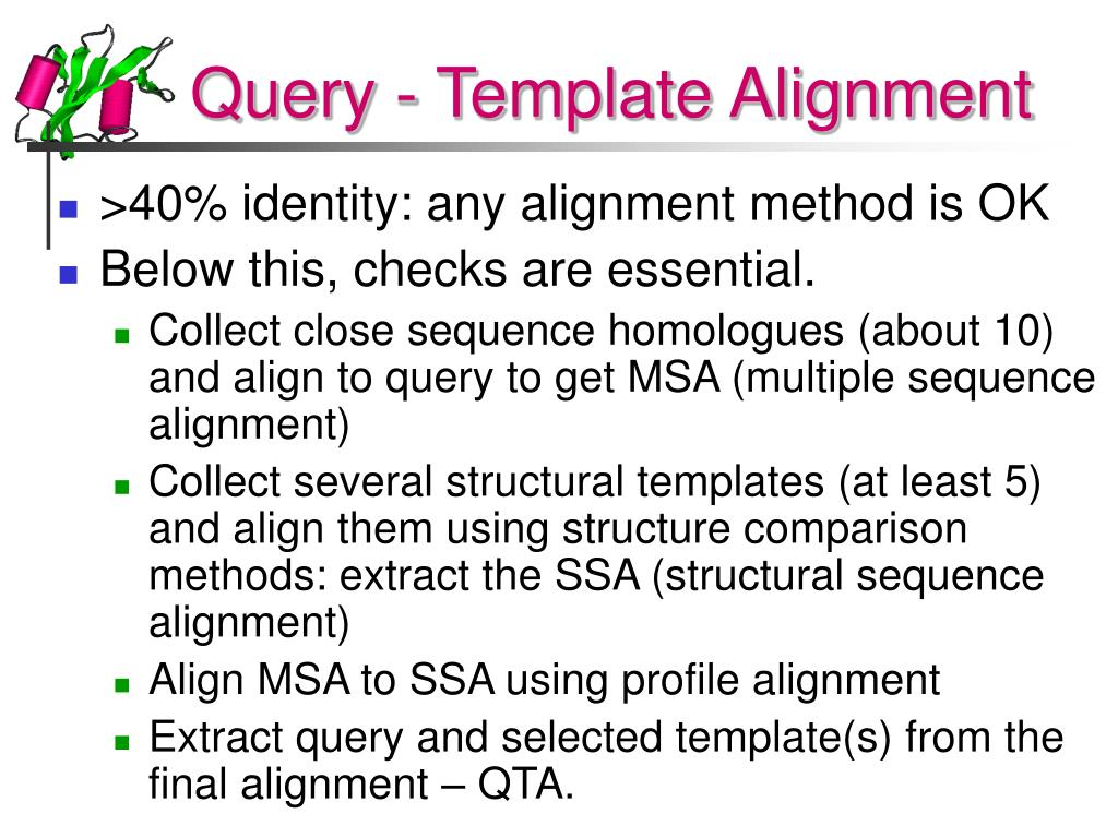 Query - Template Alignment