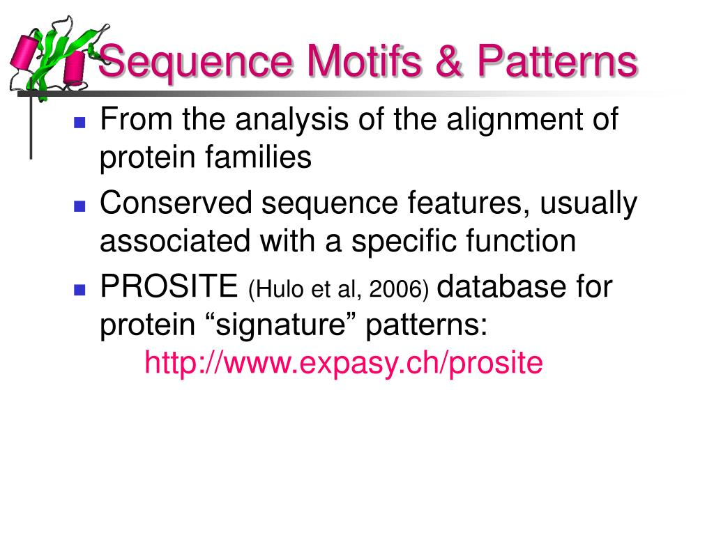 Sequence Motifs & Patterns