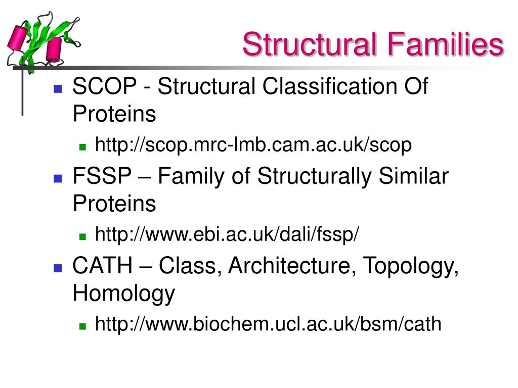 Structural Families