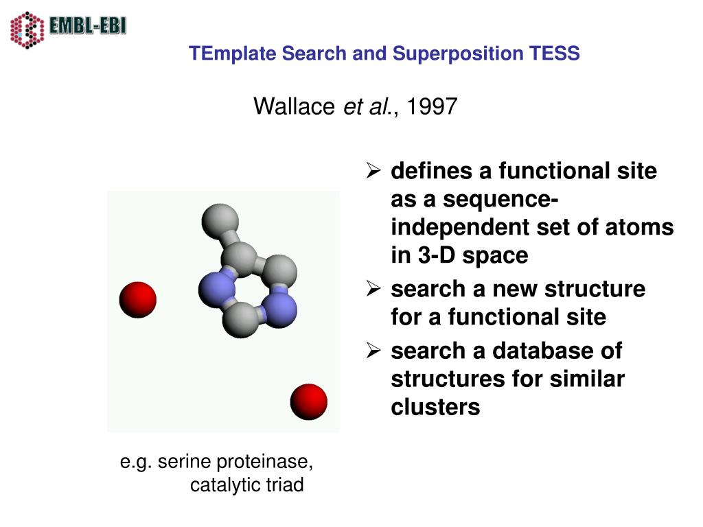 TEmplate Search and Superposition TESS