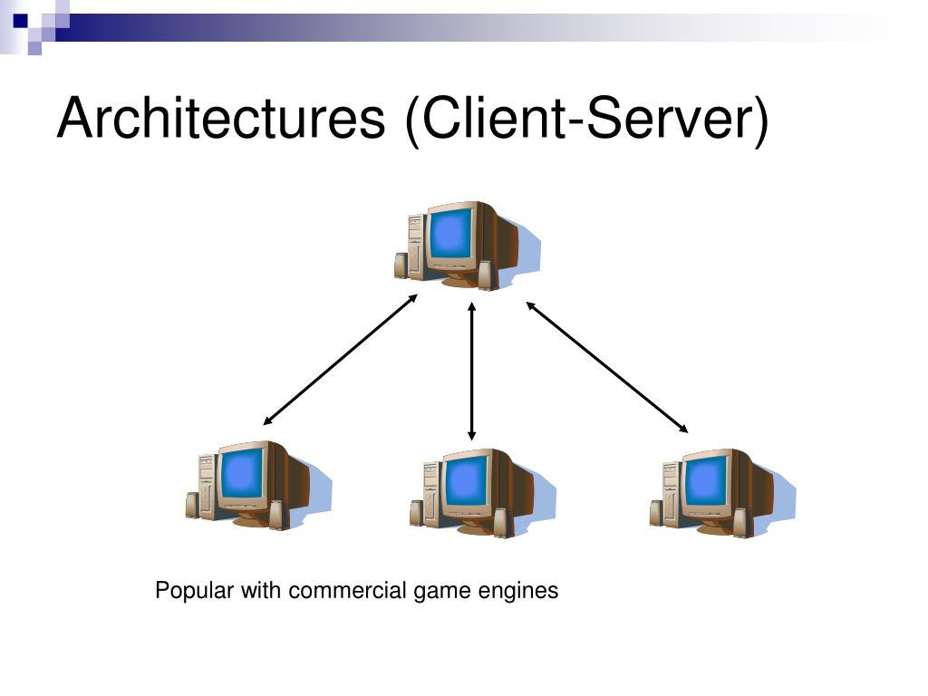 Architectures (Client-Server)