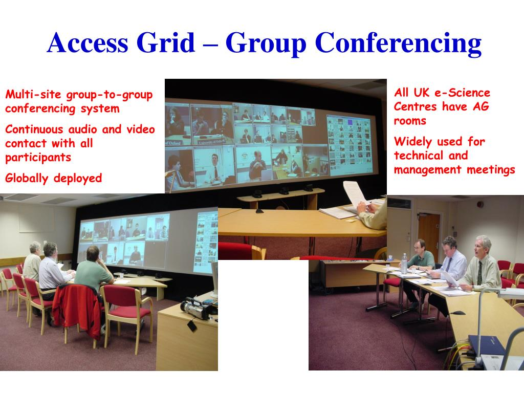 Access Grid – Group Conferencing