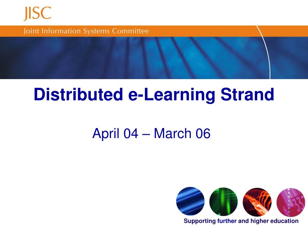 Distributed e-Learning Strand
