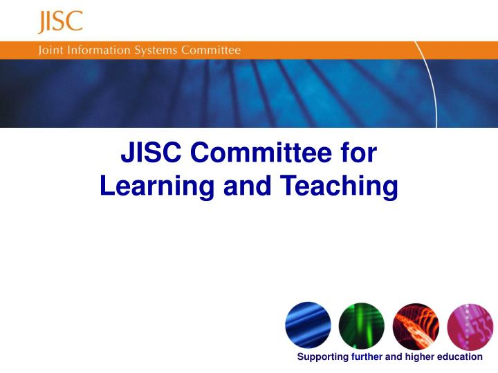 Jisc committee for learning and teaching