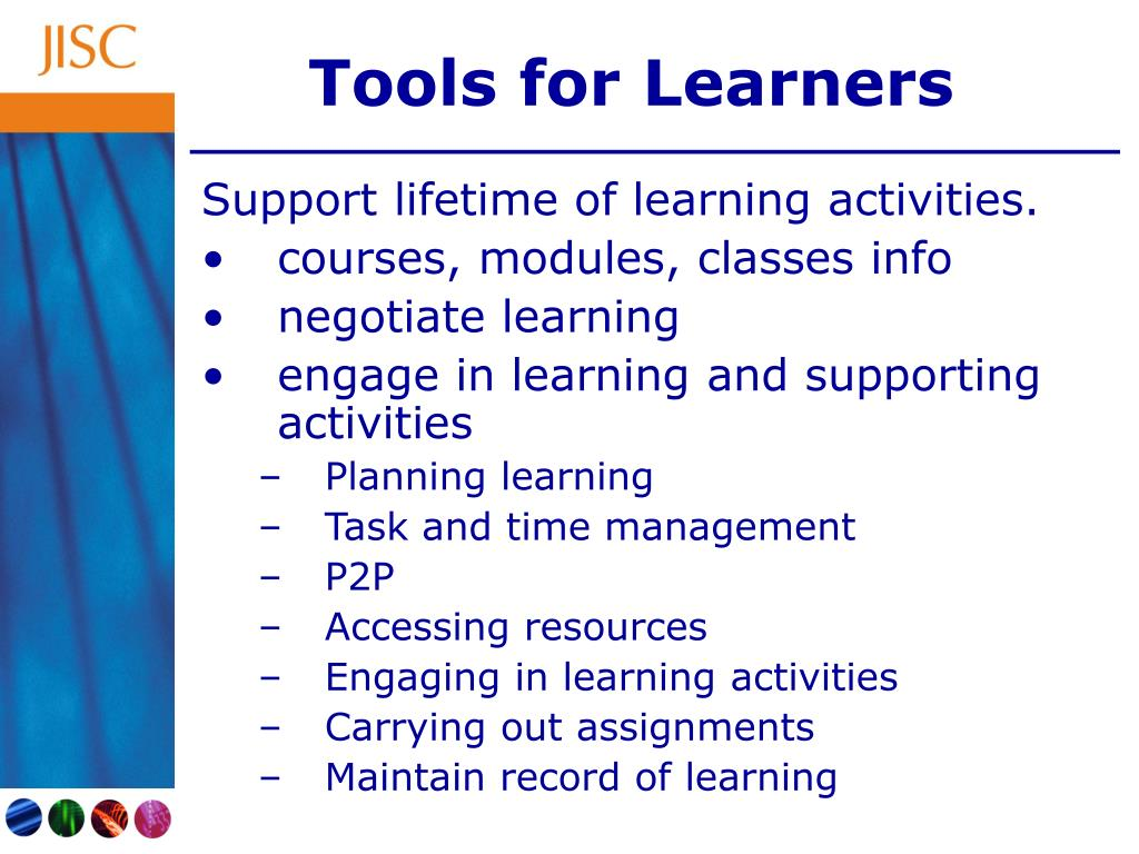 Tools for Learners