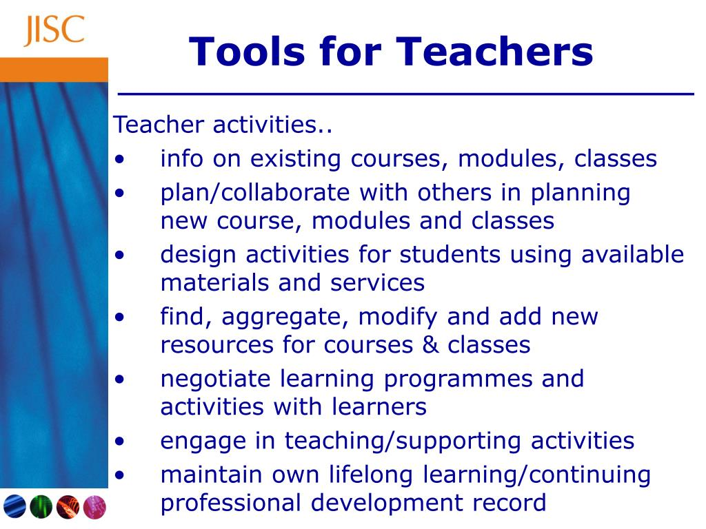 Tools for Teachers