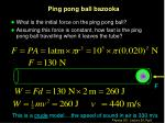 ping pong ball bazooka
