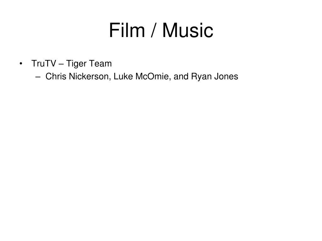 Film / Music