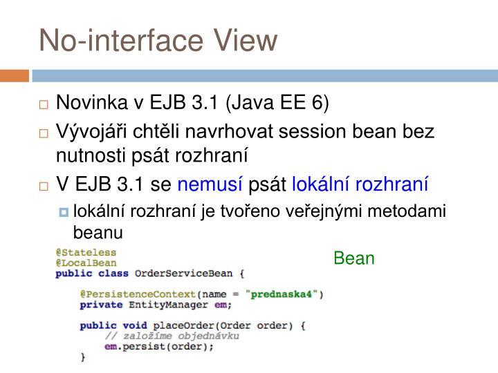 No-interface View