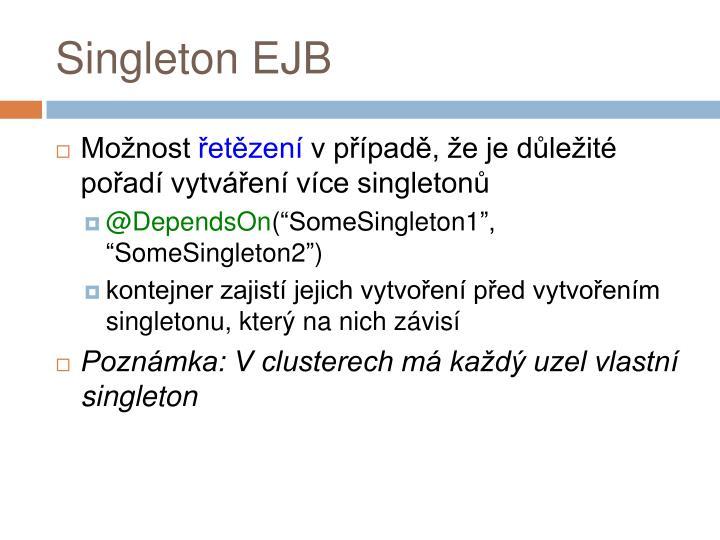 Singleton EJB