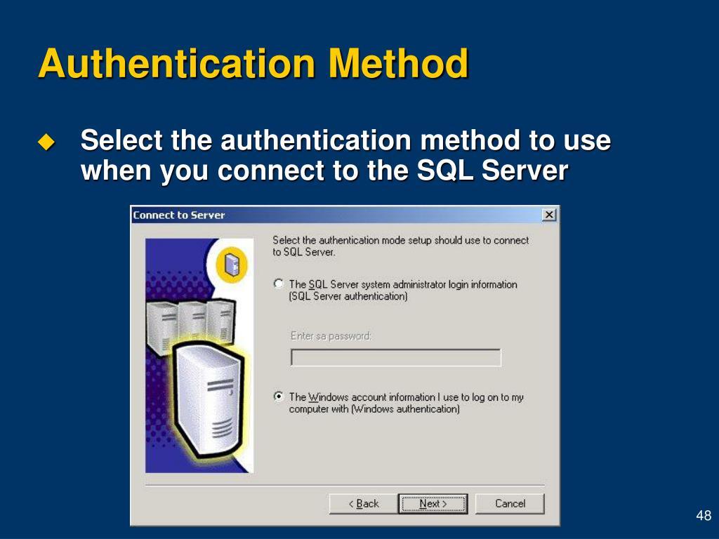 Authentication Method
