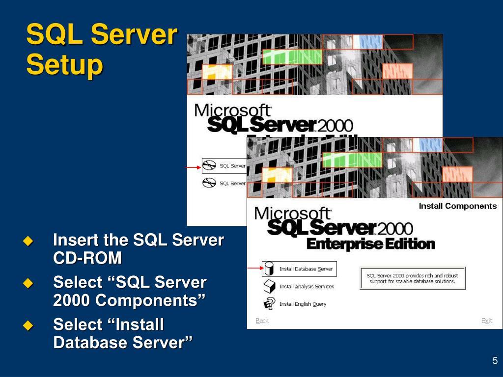 SQL Server Setup