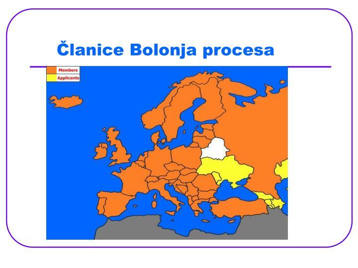 Članice Bolonja procesa