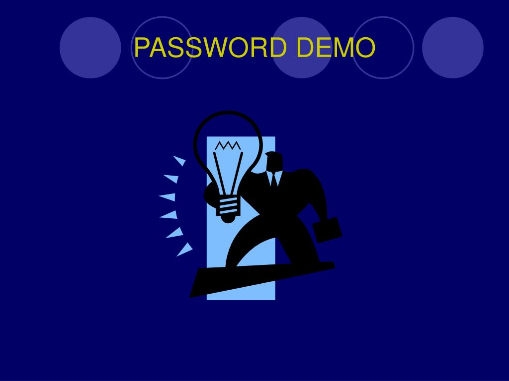 PASSWORD DEMO