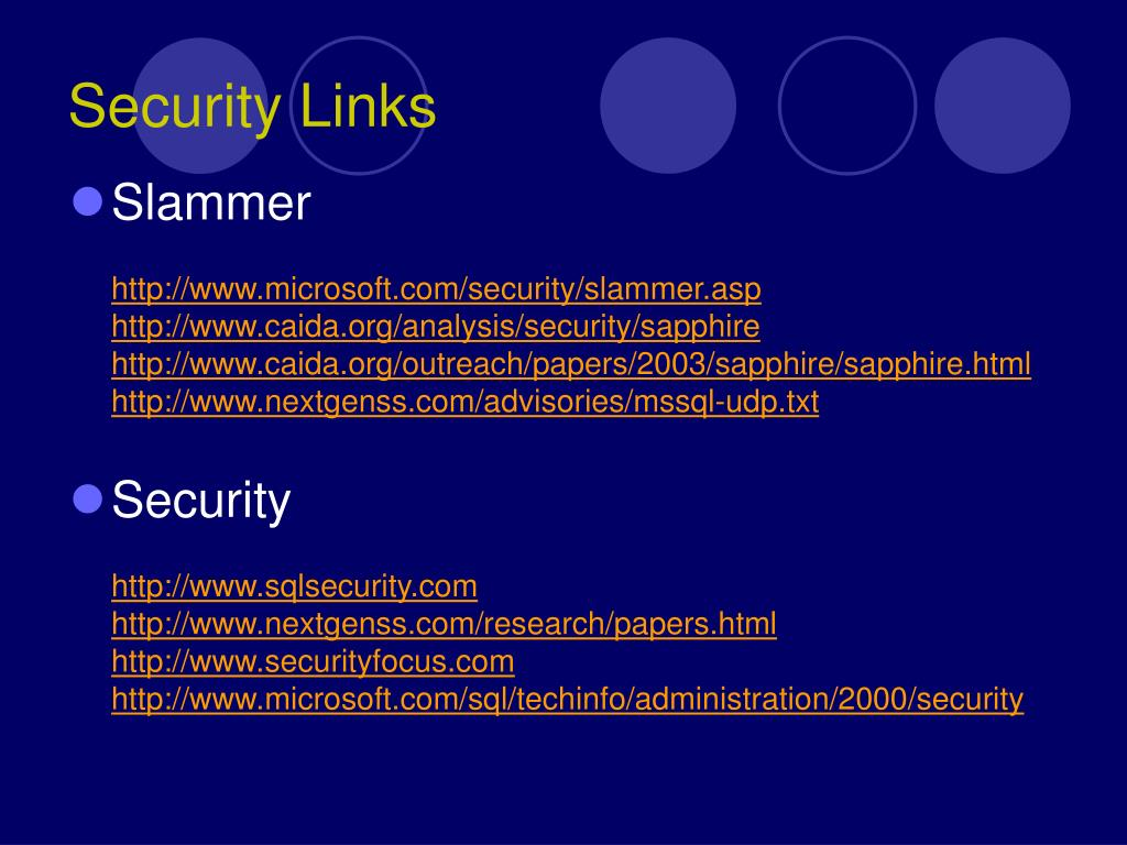 Security Links