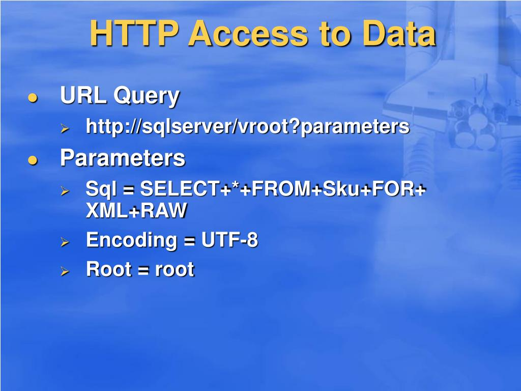 HTTP Access to Data