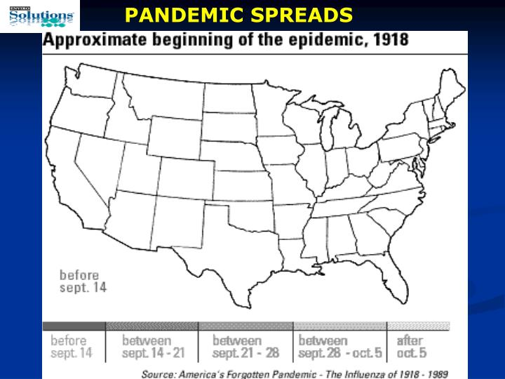 PANDEMIC SPREADS