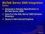 biztalk server 2000 integration demo