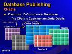 database publishing xpaths52