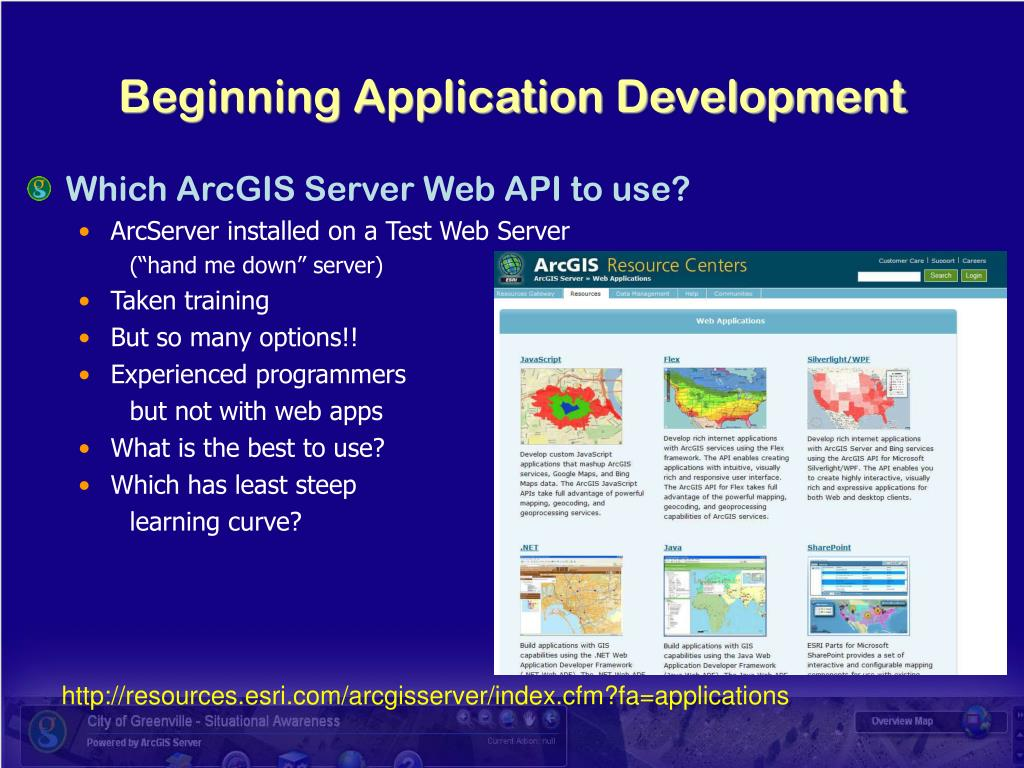Beginning Application Development