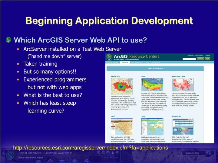 Beginning application development l.jpg