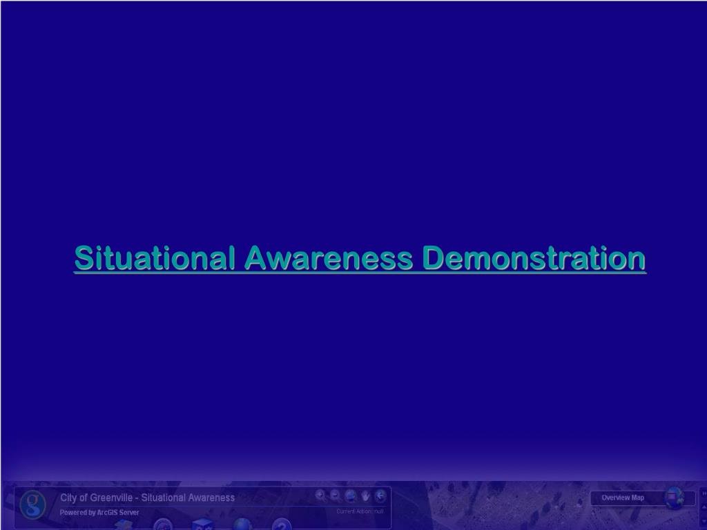 Situational Awareness Demonstration