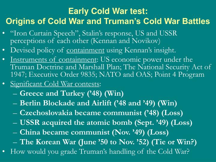 essay origins of the cold war