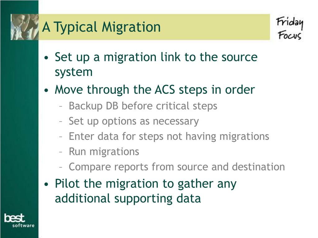 A Typical Migration