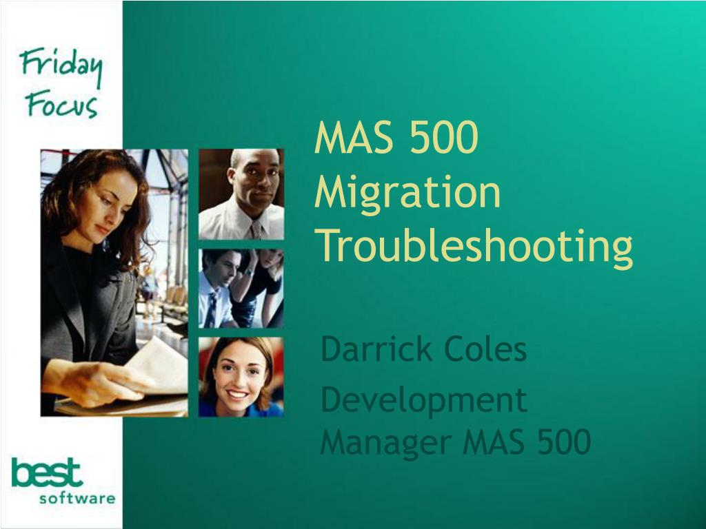 MAS 500 Migration Troubleshooting